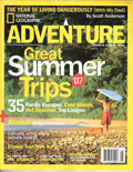 National Geographic Adventure Magazine